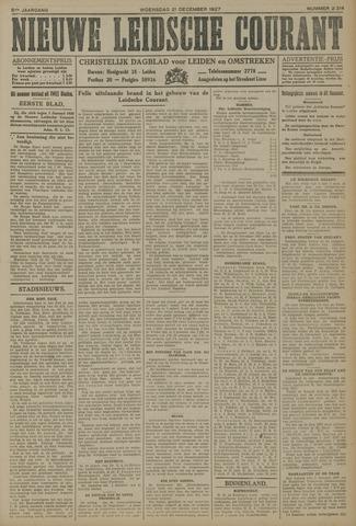 Nieuwe Leidsche Courant 1927-12-21