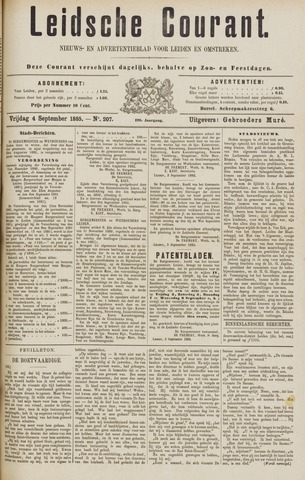 Leydse Courant 1885-09-04