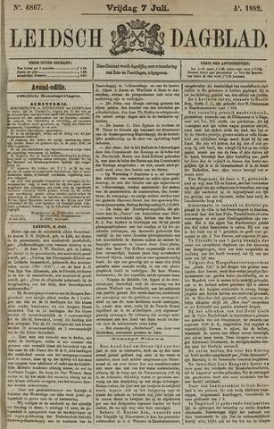 Leidsch Dagblad 1882-07-07