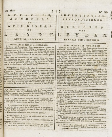 Leydse Courant 1812-12-07