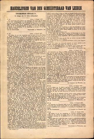 Handelingen van de Raad 1877-01-04