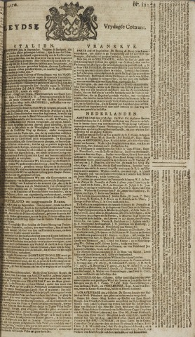 Leydse Courant 1770-10-05