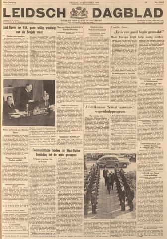 Leidsch Dagblad 1949-09-23