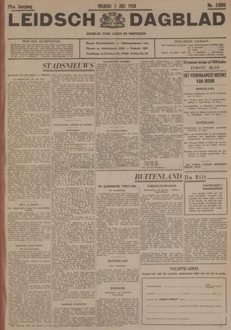 Leidsch Dagblad 1938-07-01