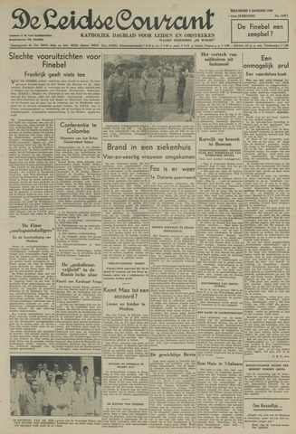 Leidse Courant 1950-01-09