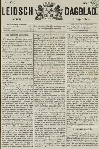 Leidsch Dagblad 1868-09-18