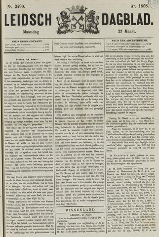 Leidsch Dagblad 1868-03-23