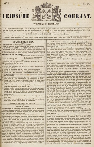 Leydse Courant 1872-02-14
