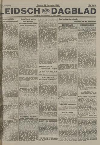 Leidsch Dagblad 1942-12-15