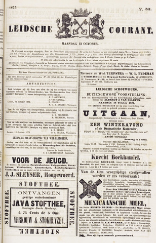 Leydse Courant 1873-10-13