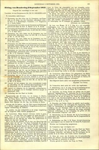 Handelingen van de Raad 1912-09-03