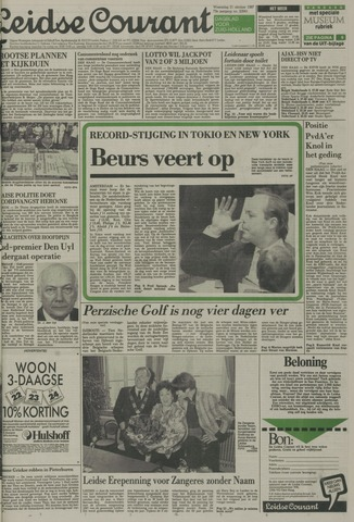 Leidse Courant 1987-10-21