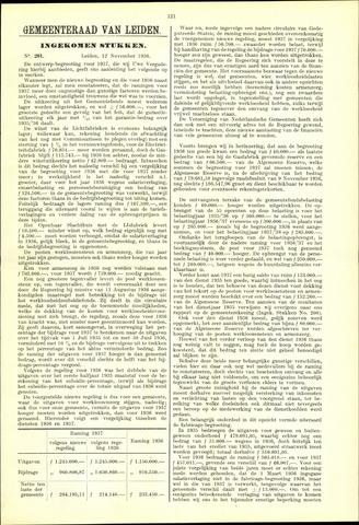 Handelingen van de Raad 1936-11-12