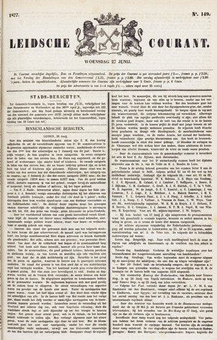Leydse Courant 1877-06-27