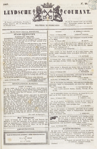 Leydse Courant 1869-02-15