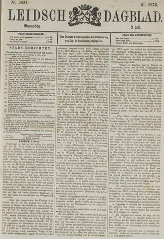 Leidsch Dagblad 1878-07-03