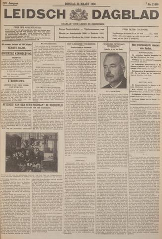 Leidsch Dagblad 1930-03-25