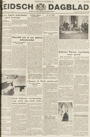 Leidsch Dagblad 1951-11-21