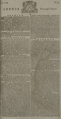 Leydse Courant 1739-08-05