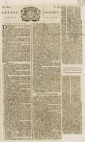 Leydse Courant 1814-06-10