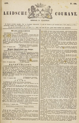 Leydse Courant 1883-08-14