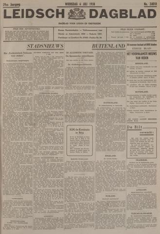 Leidsch Dagblad 1938-07-06