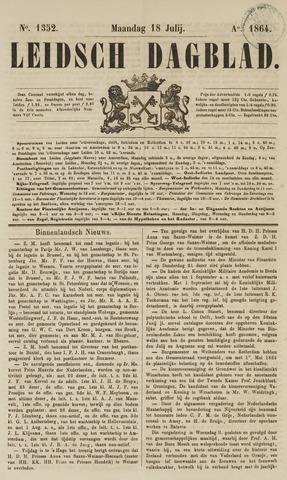 Leidsch Dagblad 1864-07-18