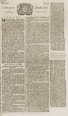 Leydse Courant 1814-03-23