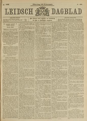 Leidsch Dagblad 1904-02-16