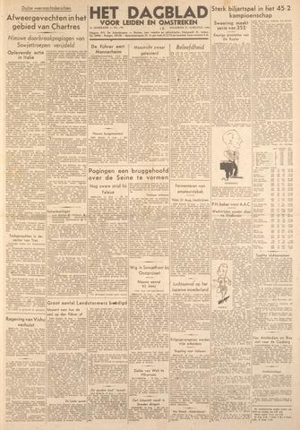 Dagblad voor Leiden en Omstreken 1944-08-21