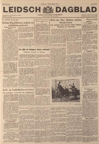 Leidsch Dagblad 1947-09-02