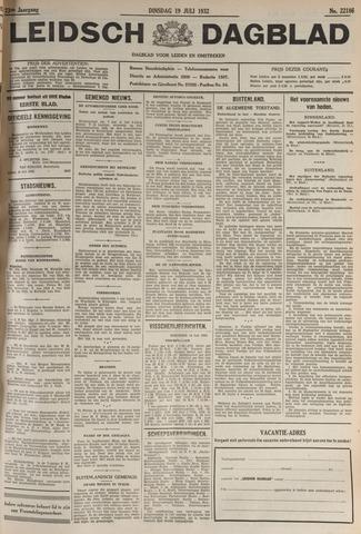 Leidsch Dagblad 1932-07-19