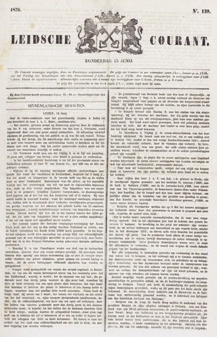 Leydse Courant 1876-06-15