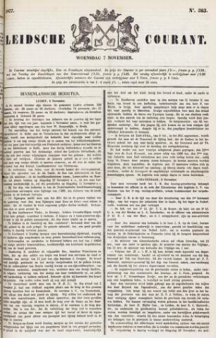 Leydse Courant 1877-11-07