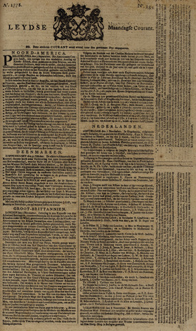 Leydse Courant 1778-11-09