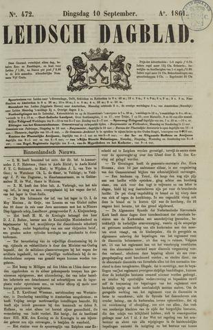 Leidsch Dagblad 1861-09-10