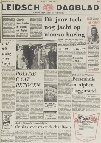 Leidsch Dagblad 1977-05-17