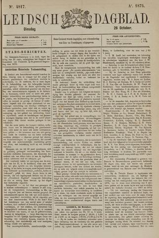Leidsch Dagblad 1875-10-26