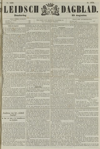 Leidsch Dagblad 1870-08-25