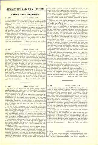 Handelingen van de Raad 1938-06-10