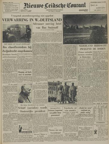 Nieuwe Leidsche Courant 1957-05-06