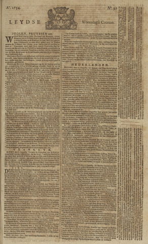 Leydse Courant 1754-08-14