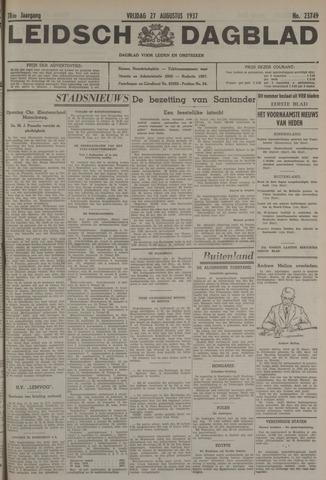 Leidsch Dagblad 1937-08-27