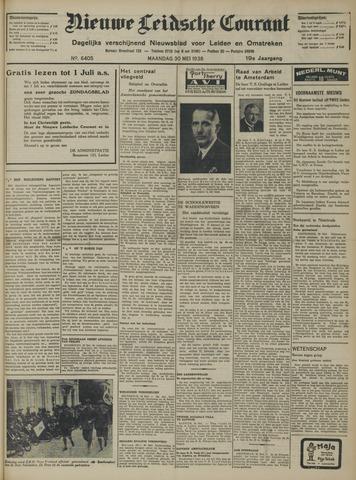 Nieuwe Leidsche Courant 1938-05-30