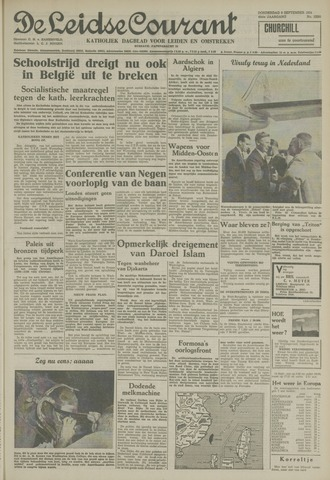 Leidse Courant 1954-09-09