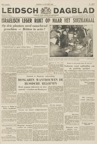 Leidsch Dagblad 1956-10-30