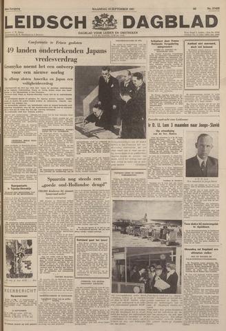 Leidsch Dagblad 1951-09-10