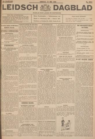 Leidsch Dagblad 1928-05-15
