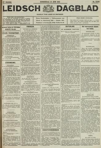 Leidsch Dagblad 1932-06-23