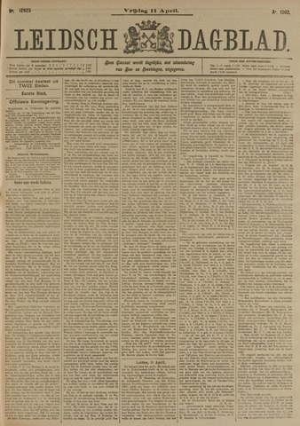 Leidsch Dagblad 1902-04-11